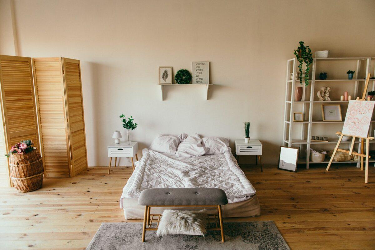 Schlaf- und Wohnraum