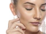 Eine sanfte kosmetische Behandlung der Haut